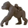 safari-figuur gorillamoeder met baby